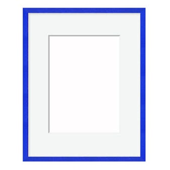 All Inclusive Blue Metal Frame with White Mat 15FT