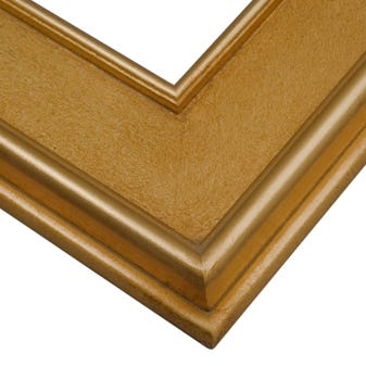 Gold wood plein air picture frame