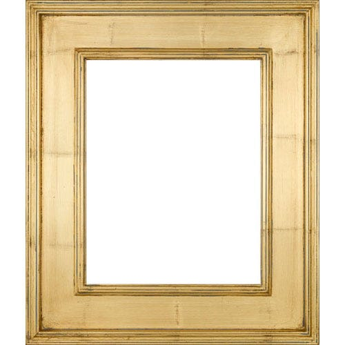 Gold with Gray Patina Plein Air Picture Frame