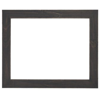 Rustic Smokey Black Picture Frame With Distressed Finish 2BPW