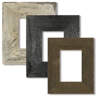 Neutral Wood Tabletop Picture Frame Set 2BWPACK57
