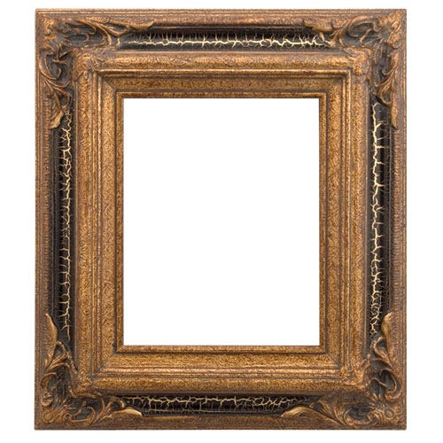 Museum Gold Wood Picture Frame