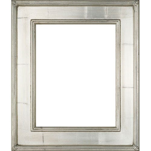 Simple Silver Wood Picture Frame