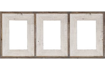 3BW3C57 Whitewash Collage Frame