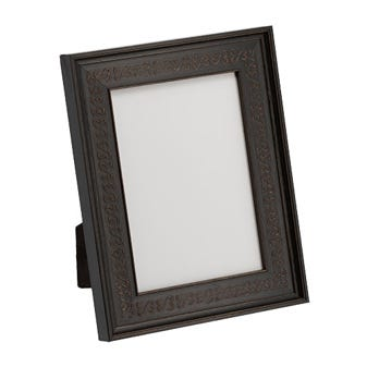 Black Open Hearts Tabletop Picture Frame