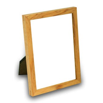 Rustic Natural Tabletop Picture Frame With Rustic FInish 4WTA