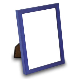 7WTA Blue table top wood frame