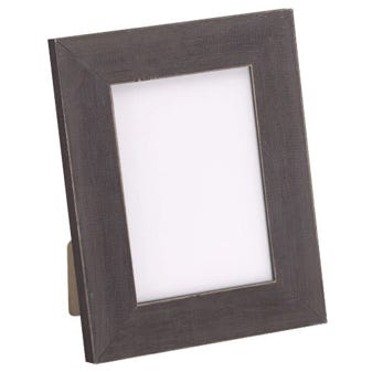 Whiskey Brown Wood Tabletop Picture Frame