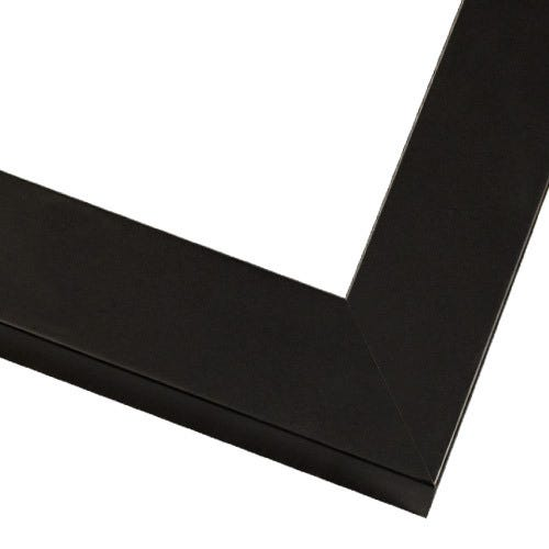 Simple Black Picture Frame With Smooth Finish
