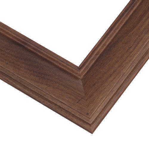 American Walnut Picture Frame With Wood Grain Design And Walnut Finish