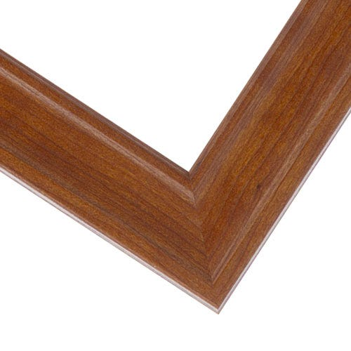 Light Cherry Picture Frame With Wood Grain Pattern And Soft Finish