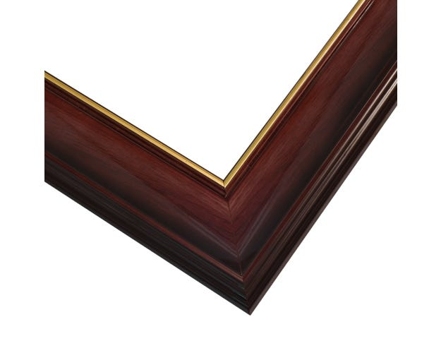 Cherry Picture Frame With Lacquer Finish And Gold Inner Lip FRC10