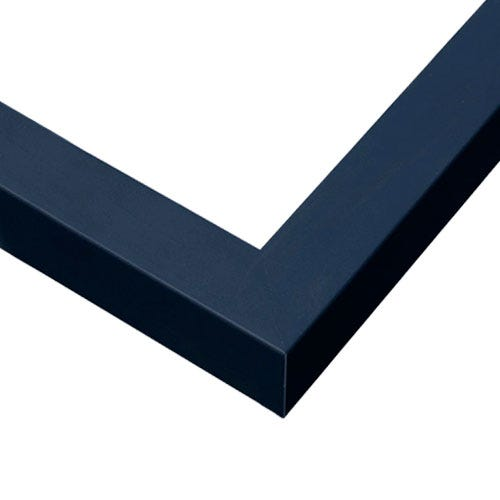 Modern Navy Blue Picture Frame With Flat Profile GLD11