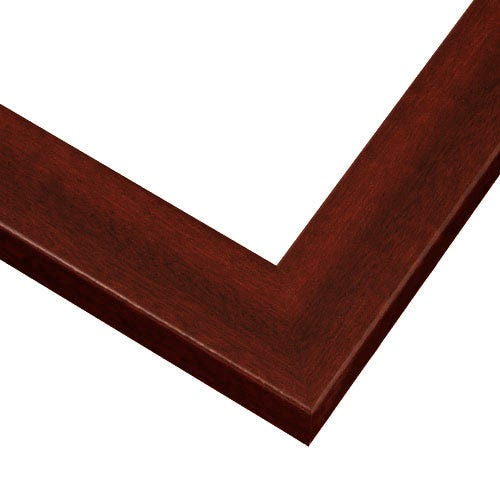Red Mahogany Picture Frame With Wood Grain Design HP3