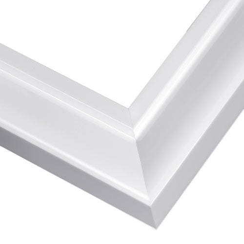 Classic Glossy White Lacquer Picture Frame JGL3