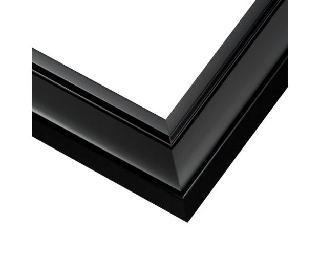 Classic Black With Frame With Glossy Black Lacquer Finish JGM2
