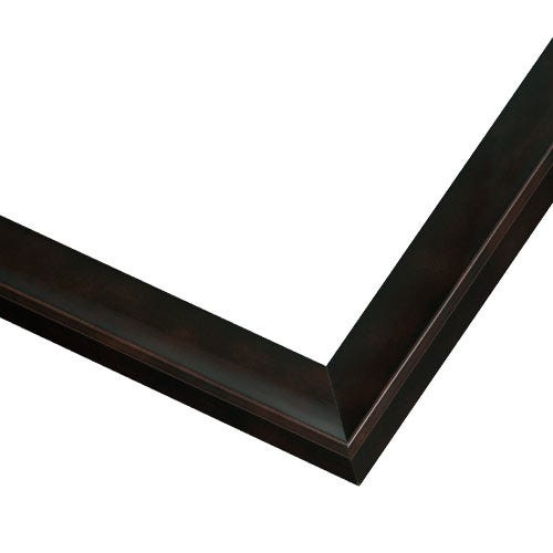 Modern Black Picture Frame WIth Black Lacquer Finish JSS2