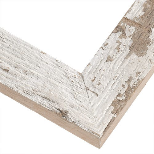 Rustic White Frame With Fresh-Sawn Sides and Distinctive Weathering HBM5