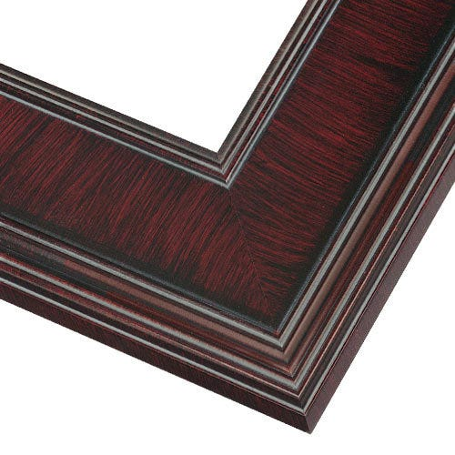 Mahogany Plein Air Picture Frame With Natural Wood Finish PEL6