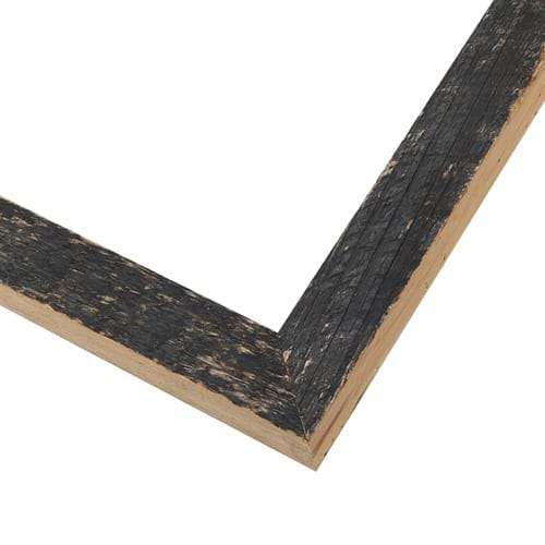 Black Rustic Natural Edge Picture Frame RLE8
