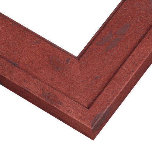 Rustic Red Barnwood Picture Frame With Weathed look