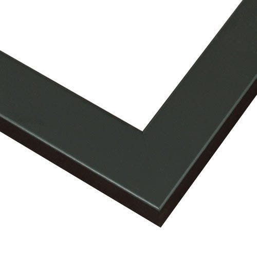 Sophisticated Black Picture Frame with Flat Face WX573