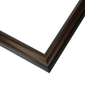 Modern Black Cherry Wood Picture Frame WX601