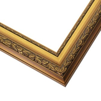 Etched Gold Wood Picture Frame WX603