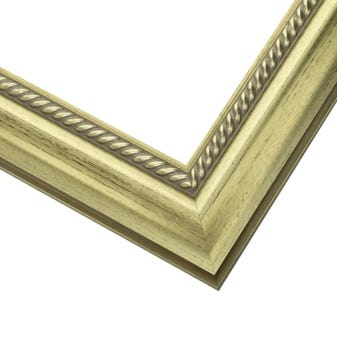 Gold Rope Wood Picture Frame WX604