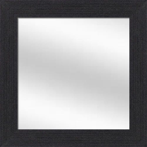 Charcoal Wood Framed Mirror