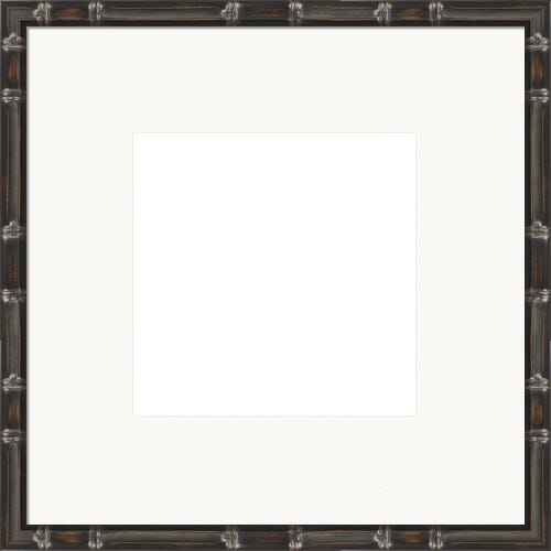 Warm Espresso Picture Frame With White mat Chelsie