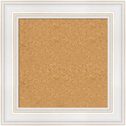 Classic White Framed Cork Board