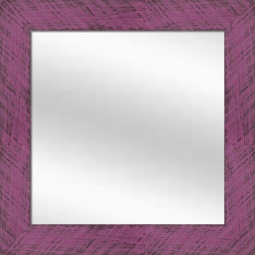 Plum Wood Framed Mirror