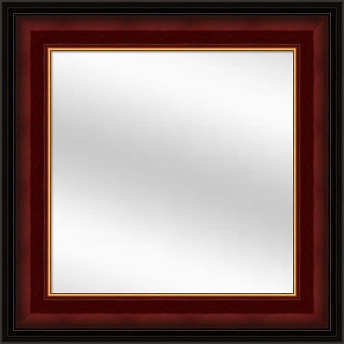 Cherry Lacquer Framed Mirror