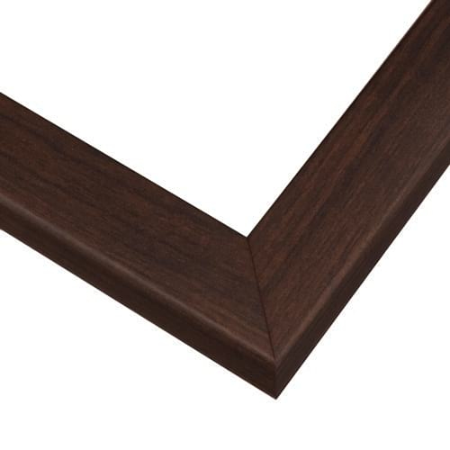 Simple Classic Walnut Picture Frame With Wood Grain Design HP80