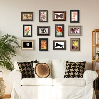 Mixed 4 x 6 Frame Pack Gallery Wall Set