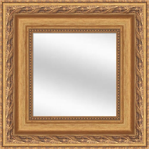 Antique Gold Wood Mirror