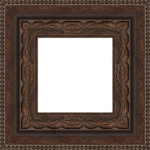 Warm Cocoa Picture Frame With Raised Details Paola
