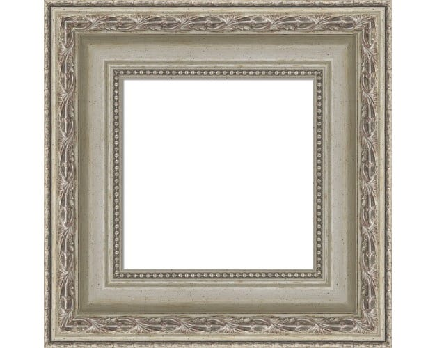 Elegant Antique SIlver Picture Frame With FInishing And Backing Josephine