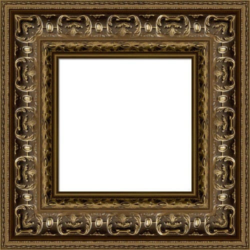 Ornate Gold Picture Frame With Relief Details Harry