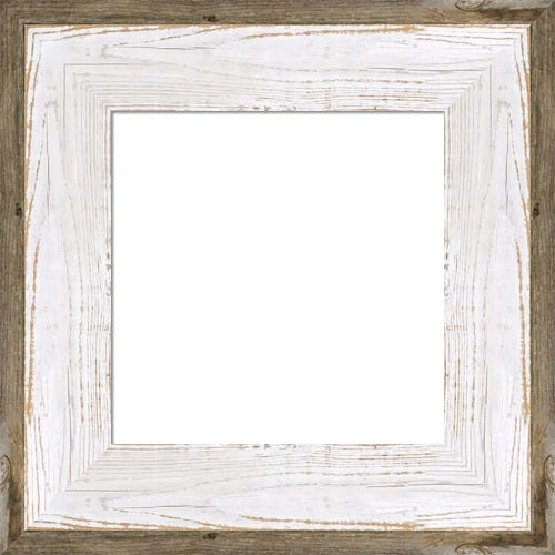 Rustic White And Gray Driftwood Frame Einstiein