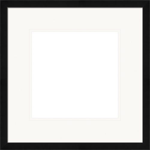 Classic Black Picture Frame With White Mat Miles