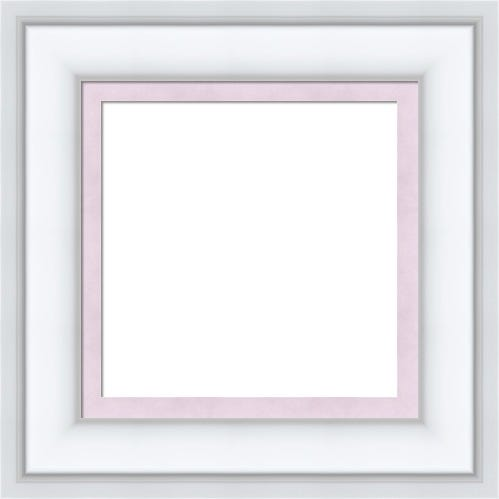 Classic White Pictur Frame With Lavender Liner Emily