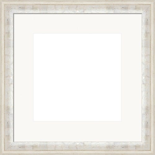 Modern Pearl Picture Frame With Bright White Mat Tiffany