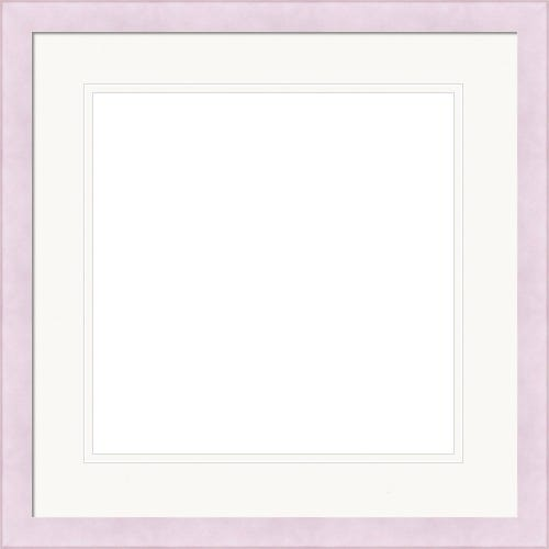 Thin Pastel Purple Picutre Frame With Double White Mat Phoebe