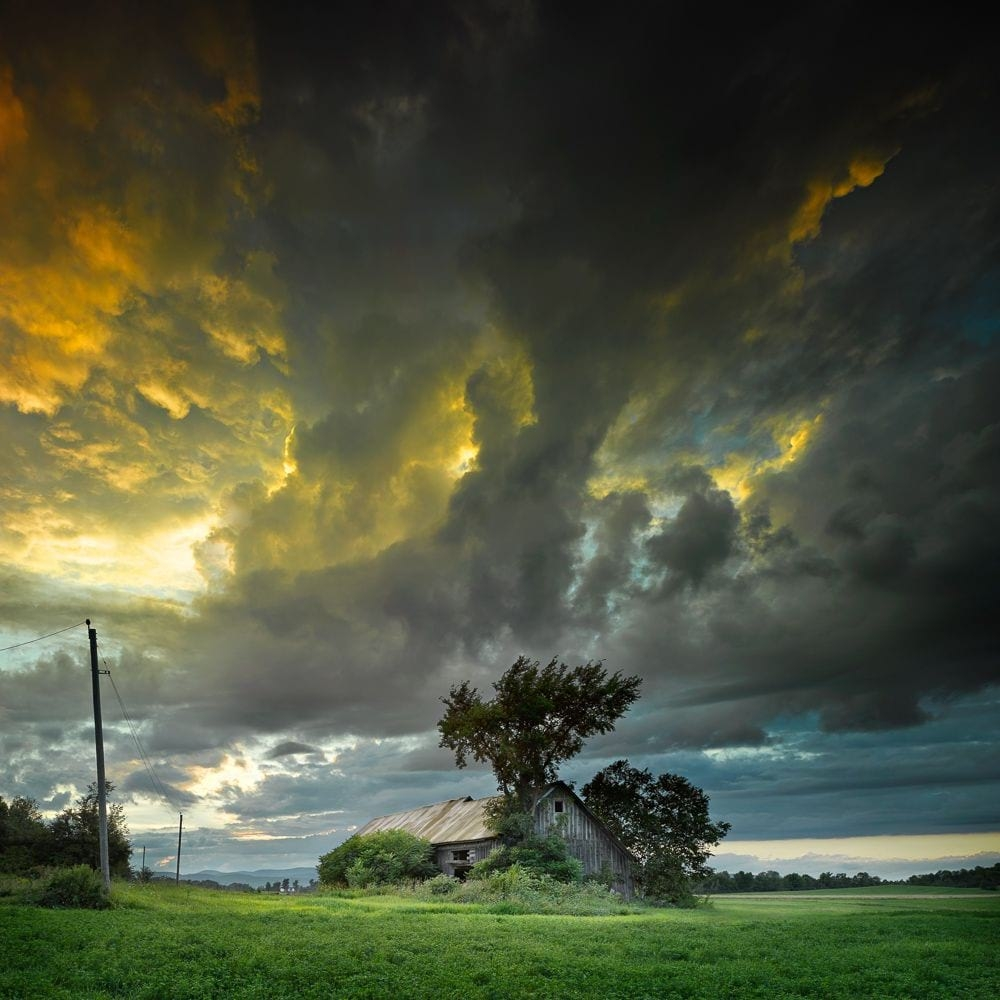 Landscape Photo - The Clearing Storm