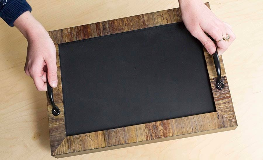 Chalkboard Cheeseboard Tray from pictureframes.com