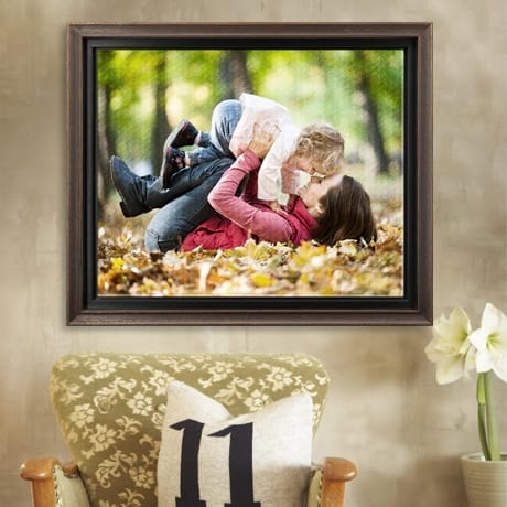 . Collections of Custom Canvas Floater Frames
